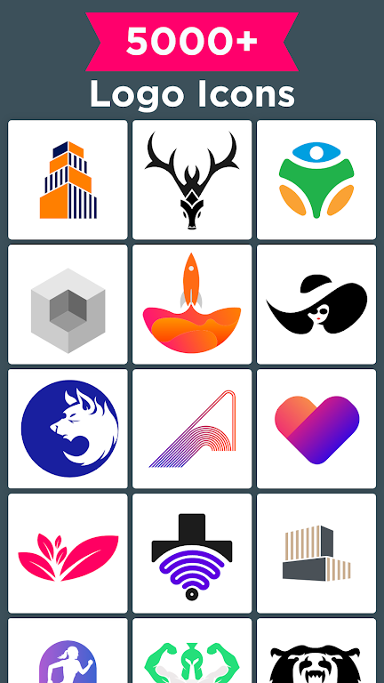 Logo Maker - Graphic Design & Logo Templates poster 22