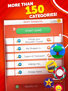 Stop - Categories Word Game Screenshot