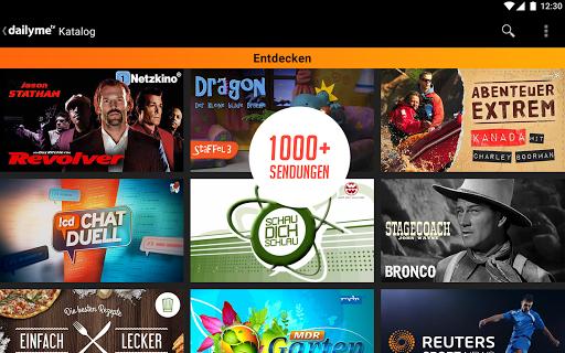 dailyme TV, Serien, Filme & Fernsehen TV Mediathek  screenshots 18