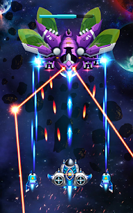 Space Invasion: Alien Shooter War MOD APK (Unlimited Everything) 4