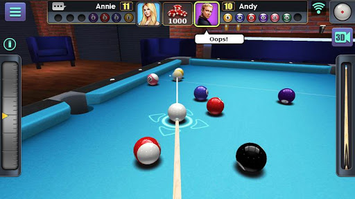 3D Pool Ball 2.2.2.3 Screenshots 1