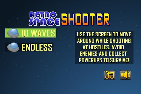 Retro Space Shooter – Game Hack Cheats (iOS & Android) 5