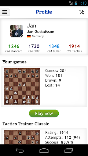 Chess - play, train & watch 1.4.18 Screenshots 5