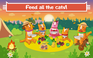 Cats Pets: Pet Picnic! Kitty Cat Games for Kids!