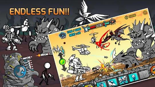 Cartoon Wars 2 MOD APK (Unlimited Money) 5