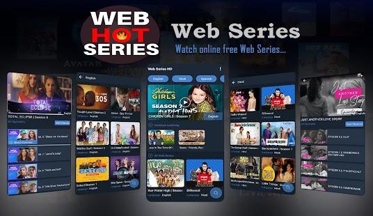 Web Series App - Hindi Free Hot Web Series Screenshot