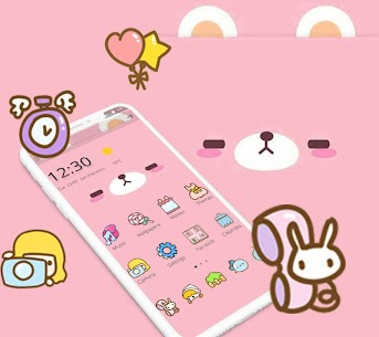 Pink Cute Cartoon Bear For Pc – [windows 10/8/7 And Mac] – Free Download In 2020 1