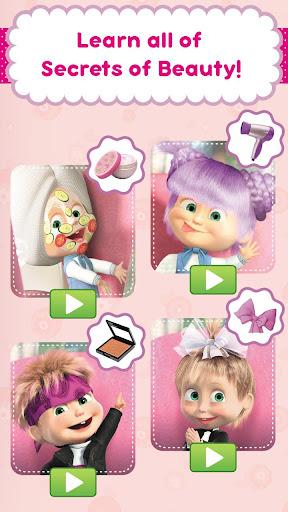 Masha and the Bear: Hair Salon and MakeUp Games 1.2.4 pic 2