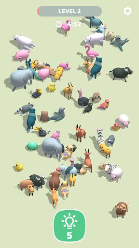 Animal Match 3D: Rolling Animals Solitaire Match  screenshots 2