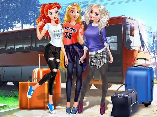 Princess College Dress up Game android2mod screenshots 1