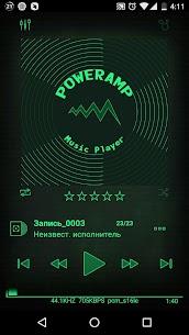 Nuclear 3k Poweramp Skin 1.0 Download APK Mod 1