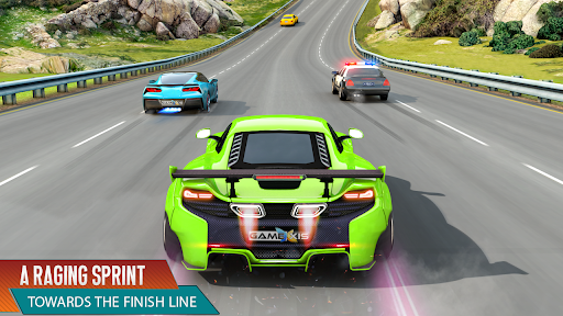 Crazy Car Racing - 3D Car Game APK MOD – Pièces de Monnaie Illimitées (Astuce) screenshots hack proof 1
