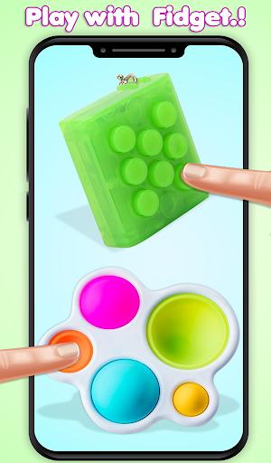 Pop It Fidget Toys Poke & Push Pop Waffle Fidgets 1.1 screenshots 9