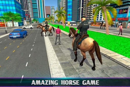Mounted Police Horse Chase 3D 1.0 screenshots 9