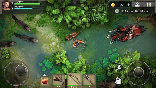 Survival Ark : Zombie Plague Island 1.0.4.9 Apk + Mod 2
