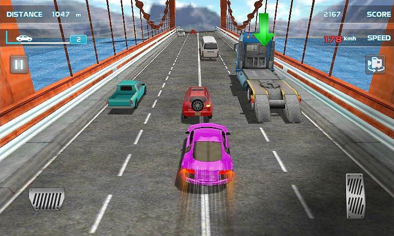 Turbo Driving Racing 3D MOD poster 1