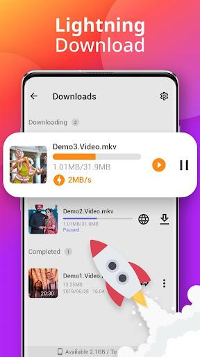 Downloader - Free Video Downloader App 1.1.2 Screenshots 3