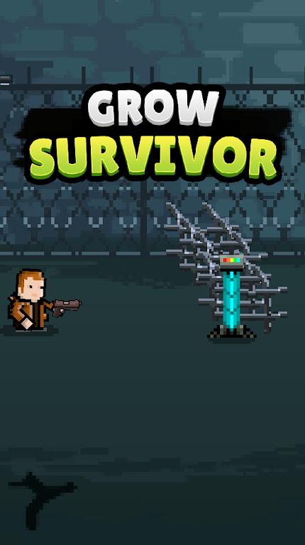 Grow Survivor - Idle Clicker  poster 0