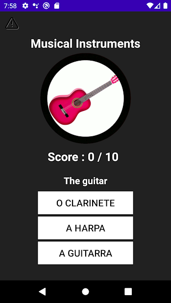 Portuguese Vocabulary screenshot 6