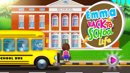 Emma Back To School Life: Classroom Play Games 4.0 Screenshots 1