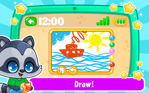 Babyphone & tablet - baby learning games, drawing 2.3.6 screenshots 3