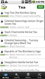 Tea Collection & Inventory 1