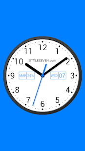 Light Analog Clock LW-7 Screenshot