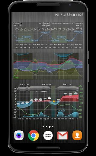 Meteogram Weather Widget  Screenshots 1