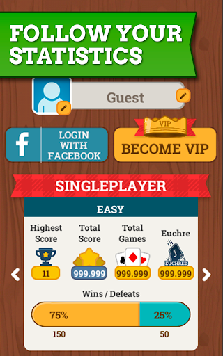 Euchre Free: Classic Card Games For Addict Players 3.7.8 screenshots 16