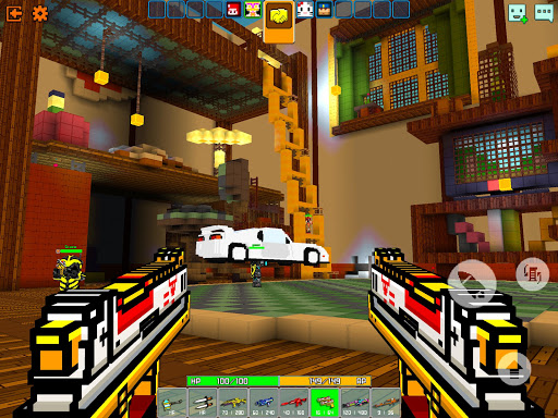Cops N Robbers - 3D Pixel Craft Gun Shooting Games goodtube screenshots 11