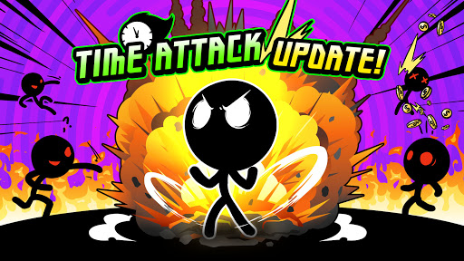 Super Action Hero: Stick Fight apkslow screenshots 1