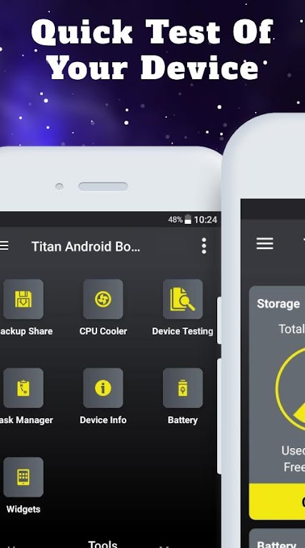 Titan Booster - Instantly Speed Up Your Phone  poster 5