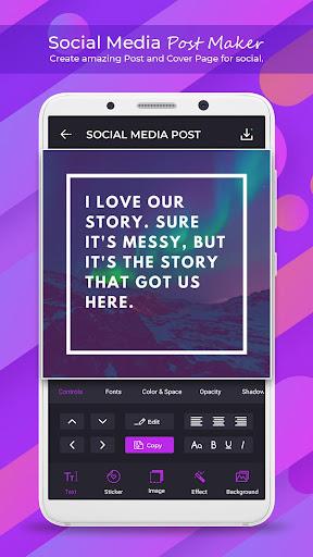 Social Media Post Maker - Social Post  screenshots 1
