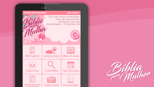 Bu00edblia para Mulher MP3 modavailable screenshots 15