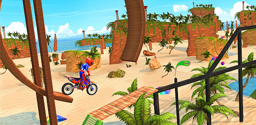 Beach Bike Stunts: Crazy Stunts and Racing Game 5.1 screenshots 7
