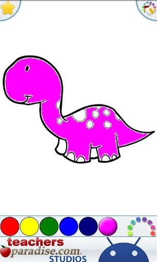 Dinosaurs Coloring Book screenshots 3
