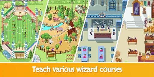 Idle Wizard School - Wizards Assemble  screenshots 3