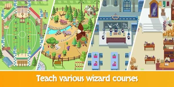 Idle Wizard School – Wizards Assemble Mod Apk 1.9.2 (Unlimited Gold Coins/Diamonds) 3