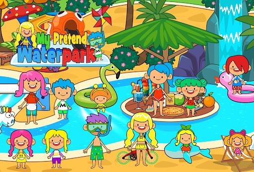 My Pretend Waterpark - Kids Summer Splash Pad apkpoly screenshots 5