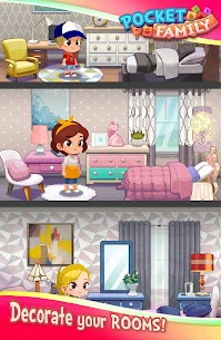 Pocket Family Dreams: Build My Virtual Home Apk Mod + OBB/Data for Android. 10