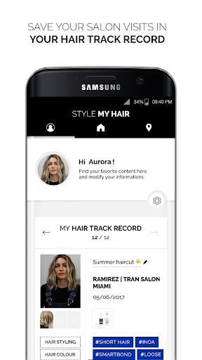 Style My Hair: Discover Your Next Look modavailable screenshots 4