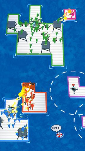 War of Rafts: Crazy Sea Battle  screenshots 2