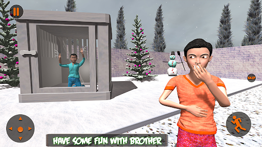 Scary Brother 3D - Siblings New family fun Games apkdebit screenshots 4