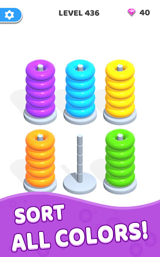 Color Hoop Stack - Sort Puzzle 1.0.3 screenshots 19