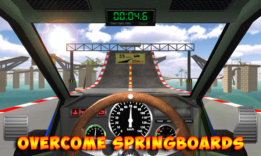 Racing stunts by car. Extreme driving apkpoly screenshots 2