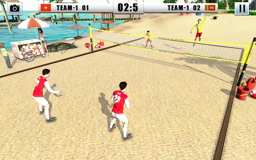 Volleyball 2021 - Offline Sports Games apkpoly screenshots 4