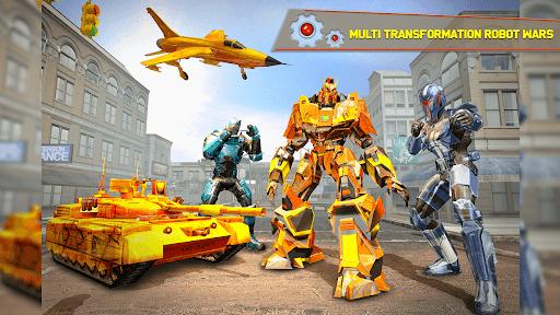 Tank Robot Car Games - Multi Robot Transformation screenshots 13