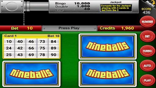 Nine Balls Video Bingo 2.12 screenshots 1