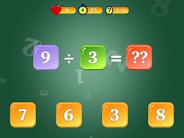 Multiplication and Division Tables. Training.
