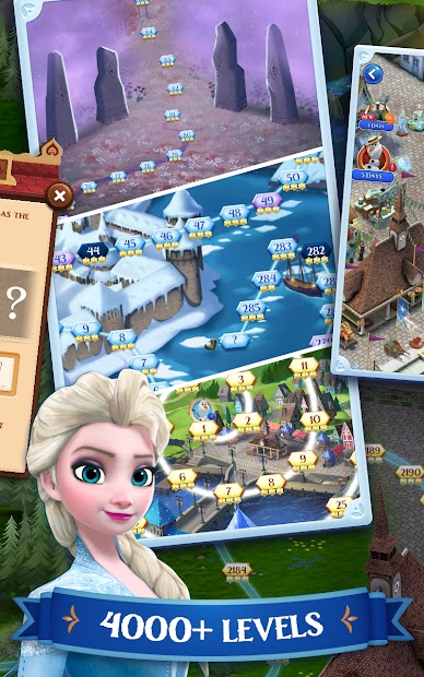 Disney Frozen Free Fall - Play Frozen Puzzle Games screenshot 2